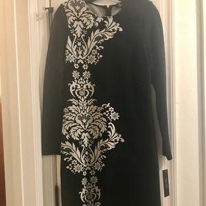 Rickie Freeman for Teri Jon Knit Sheath Dress